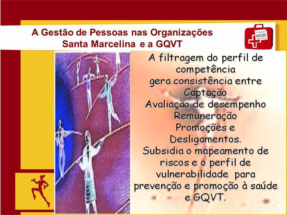 Slide 16 A Gestão de Pessoas nas Organizações Santa Marcelina e a GQVT
