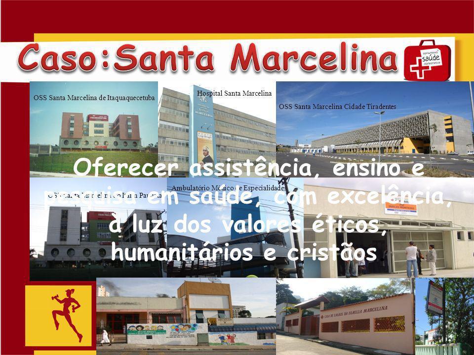 Slide 8 OSS Santa Marcelina de Itaquaquecetuba Hospital Santa Marcelina OSS Santa Marcelina Cidade Tiradentes OSS Santa Marcelina do Itaim Paulista Am