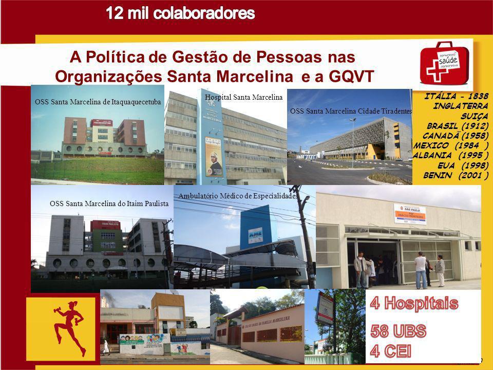 Slide 9 OSS Santa Marcelina de Itaquaquecetuba Hospital Santa Marcelina OSS Santa Marcelina Cidade Tiradentes OSS Santa Marcelina do Itaim Paulista Am