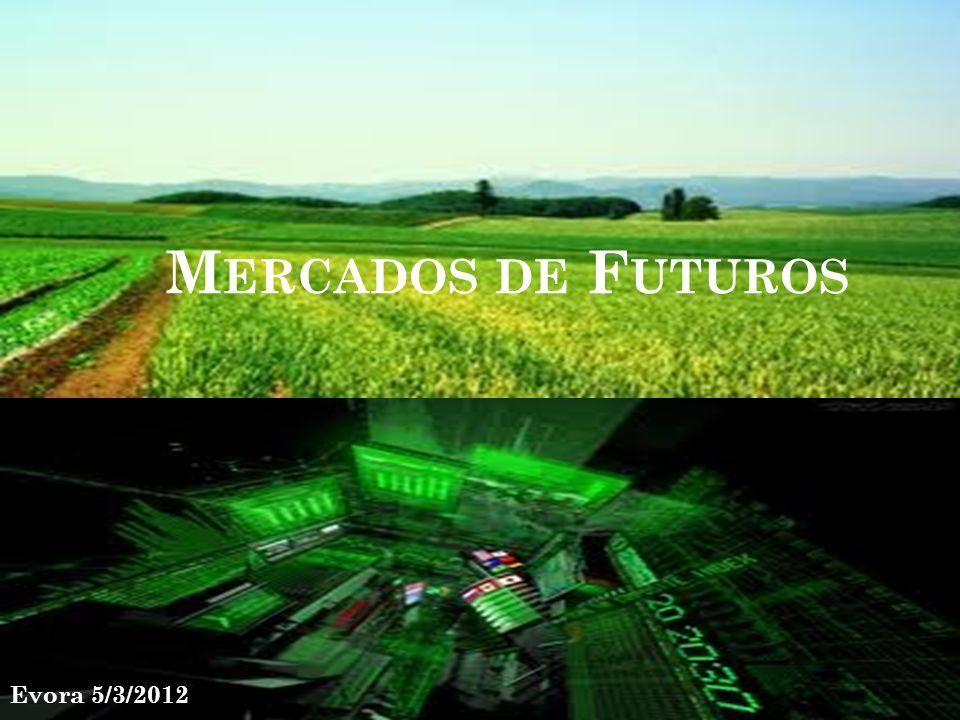 M ERCADOS DE F UTUROS Evora 5/3/2012