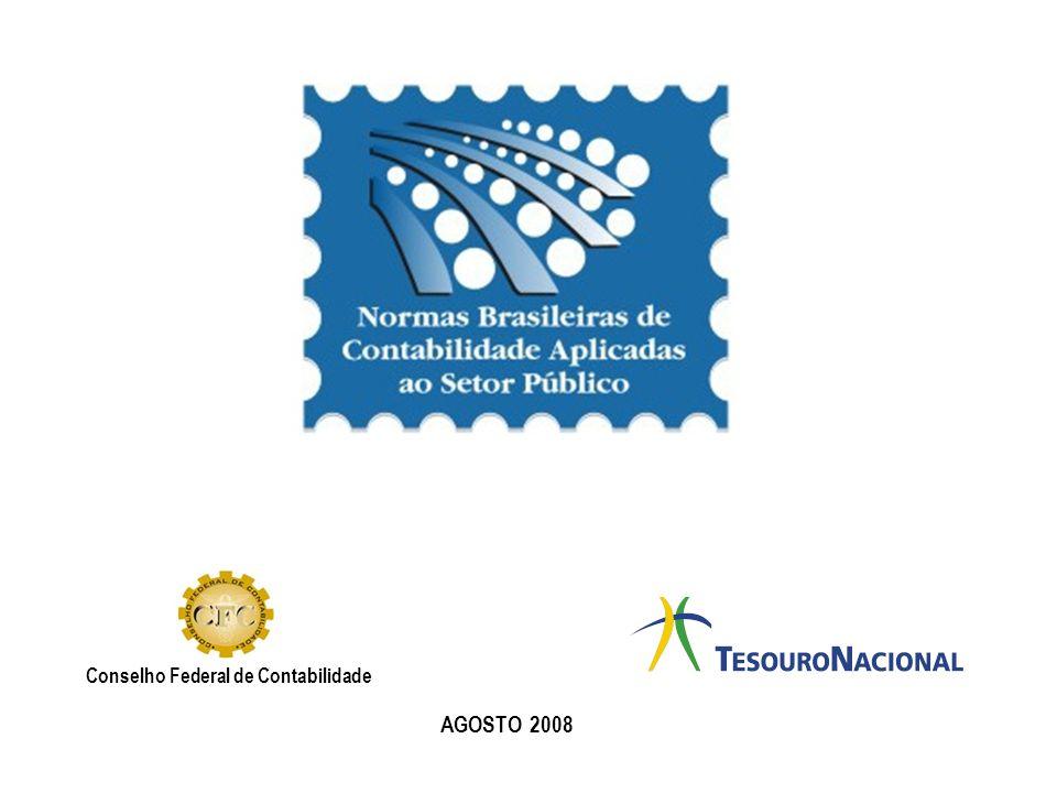 Conselho Federal de Contabilidade AGOSTO 2008