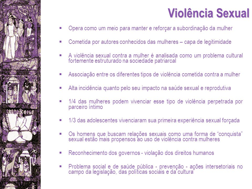 Violência Sexual Opera como um meio para manter e reforçar a subordinação da mulher Cometida por autores conhecidos das mulheres – capa de legitimidad