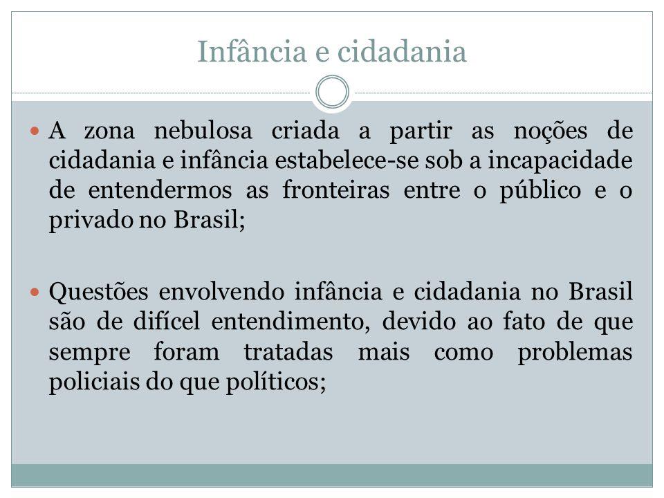 Atividade 1 Fala-se em cidadania no Brasil justamente em uma época em que vários autores apontam o contrário: a perda do espaço público.