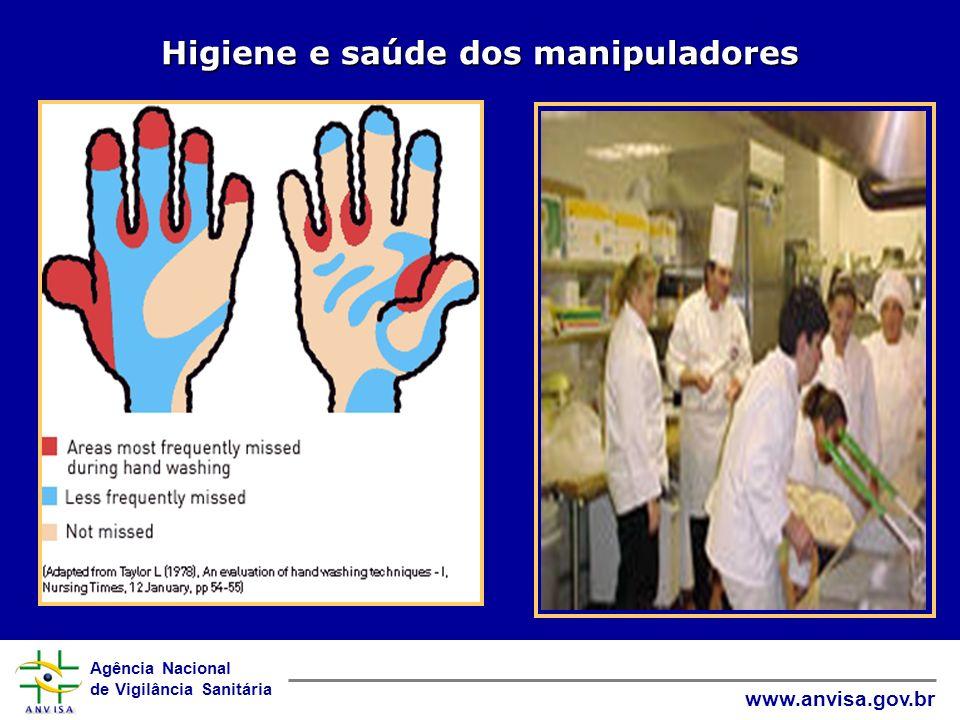 Agência Nacional de Vigilância Sanitária www.anvisa.gov.br Higiene e saúde dos manipuladores