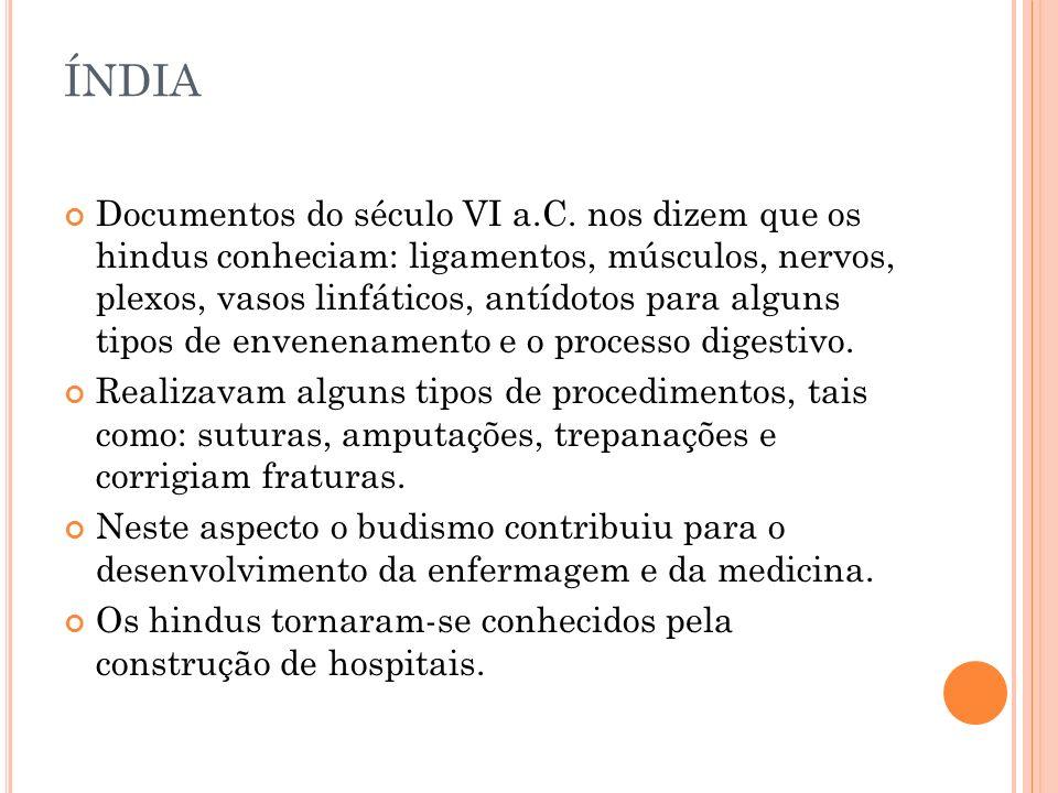 ÍNDIA Documentos do século VI a.C.