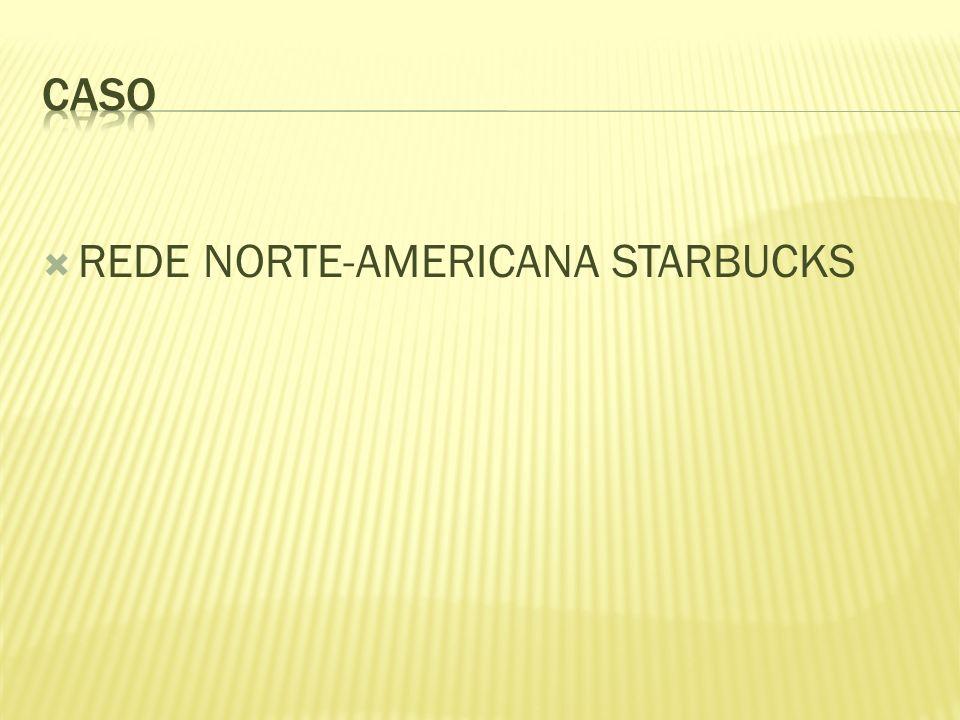REDE NORTE-AMERICANA STARBUCKS