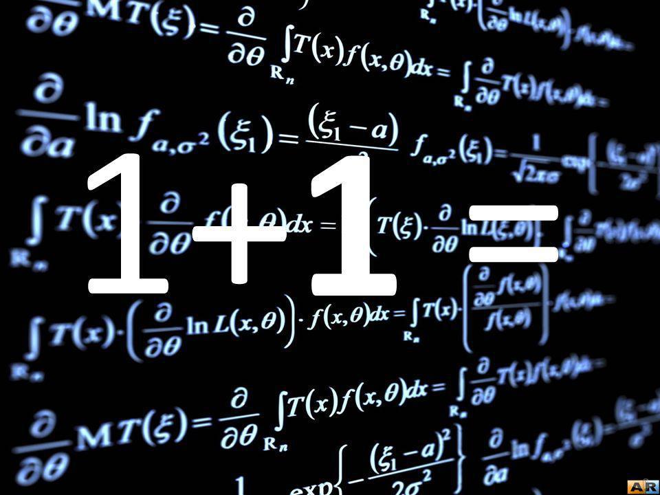 +1 = 1