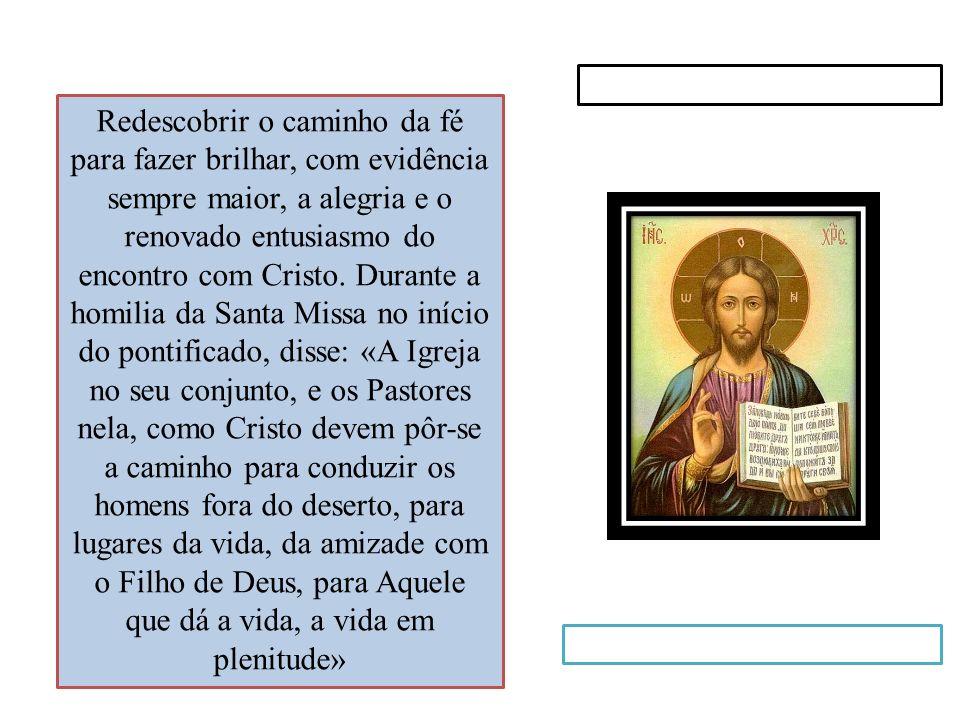 1.Consciência, revigorar a adesão ao Evangelho, intensificar o testemunho da caridade.