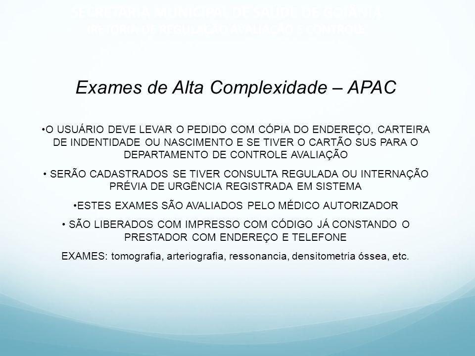 SECRETARIA MUNICIPAL DE SAÚDE DE GOIÂNIA IRETORIA DE REGULAÇÃO AVALIAÇÃO E CONTROLE RESUMO DO ACESSO DOS MUNÍCIPIOS DA MICRO EM GOIÂNIA ATENÇÃO BÁSICANO PRÓPRIO MUNÍCIPIO EXAMES DE MÉDIA COMPLEXIDADE DISPONIBILIZADO SISTEMA PELA INTERNET PARA RETIRADA CONSULTA ESPECIALIZADA SISTEMA DE LISTA DE ESPERA NA INTERNET ALTA COMPLEXIDADE REPRESENTANTE DO MUNÍCIPIO REALIZA O PEDIDO NA DRAC CIRURGIA ELETIVA REPRESENTANTE DO MUNÍCIPIO REALIZA O PEDIDO NA DRAC INTERNAÇÃO DE URGÊNCIA ATÉ O MOMENTO POR TELEFONE EM DISCUSSÃO A MELHORIA DESTE ACESSO CENTRAL DE URGÊNCIASAMU EM 13 MUNICÍPIOS DOS 25