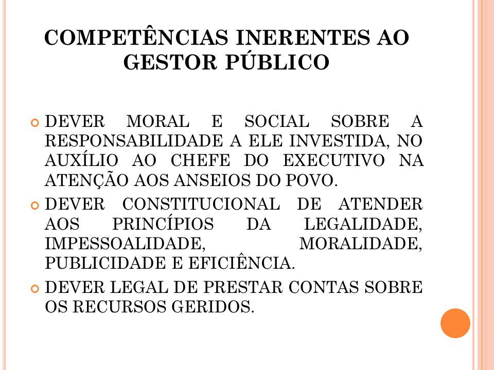 DEVER LEGAL: P RESTAR CONTAS JUNTO ÀS C ORTES DE C ONTAS. 1 ª. HIPÓTESE: CONTAS APROVADAS.