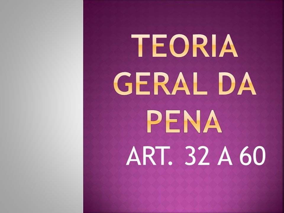 ART. 32 A 60