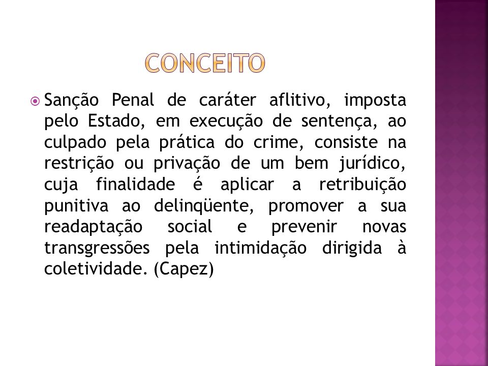 SANÇÃO PENAL (GÊNERO) PENA (IMPUTÁVEL) MEDIDA DE SEGURANÇA (INIMPUTÁVEL)