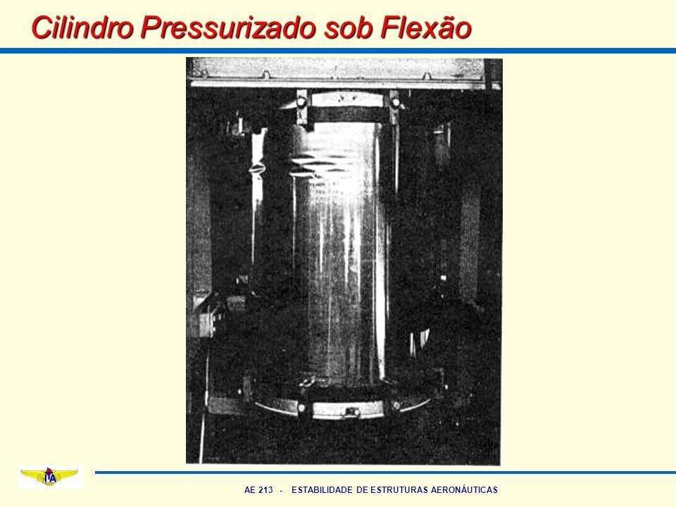 AE 213 - ESTABILIDADE DE ESTRUTURAS AERONÁUTICAS Cilindro Pressurizado sob Flexão