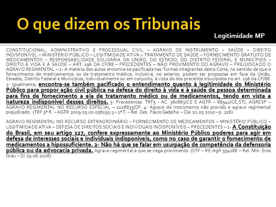 encontra-se também pacificado o entendimento quanto à legitimidade do Ministério Público para propor ação civil pública na defesa do direito à vida e