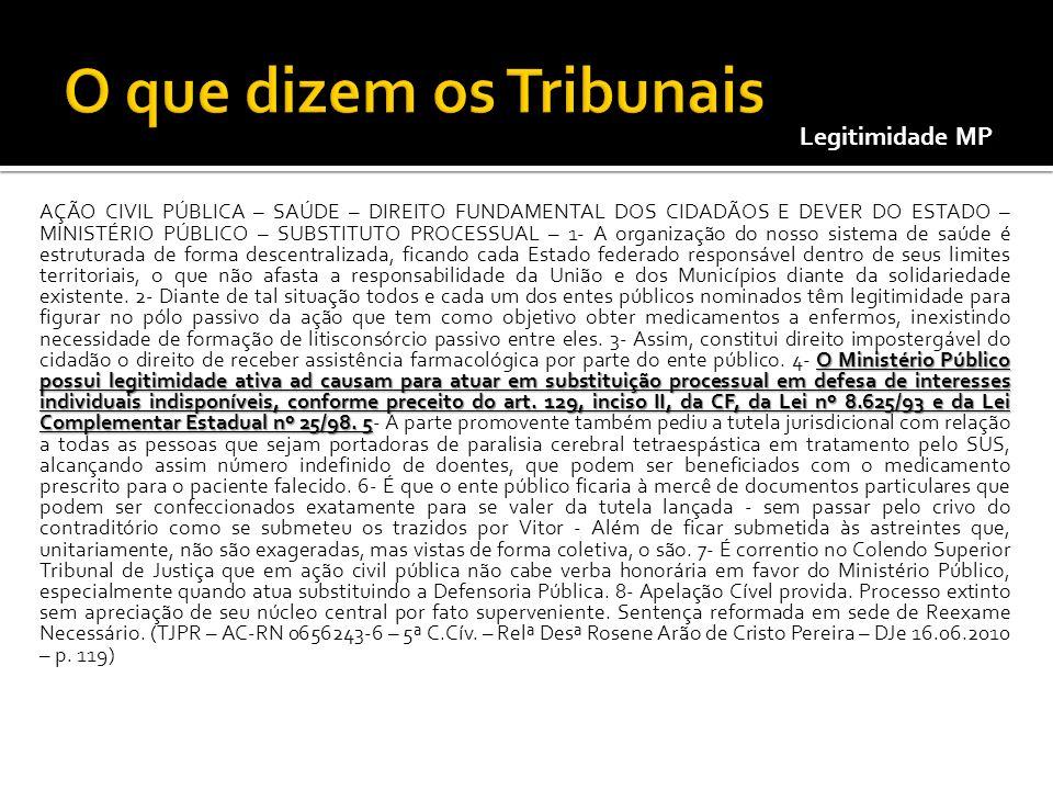 O Ministério Público possui legitimidade ativa ad causam para atuar em substituição processual em defesa de interesses individuais indisponíveis, conf