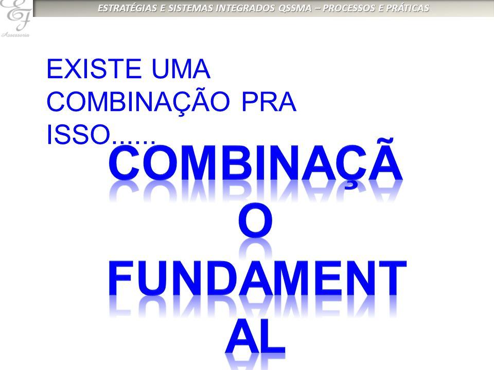 EXISTE UMA COMBINAÇÃO PRA ISSO......