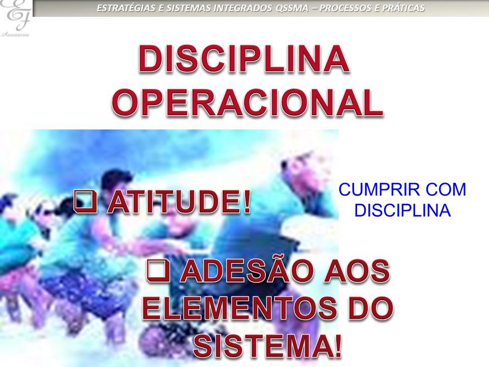 CUMPRIR COM DISCIPLINA