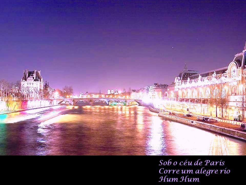 E a esperança floresce No céu de Paris