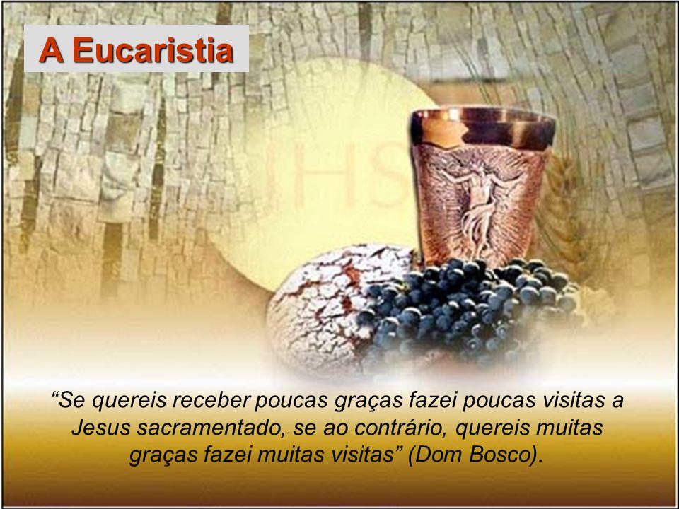 65 Dom Bosco ainda nos ensina a ser santos através de seus Três amores: