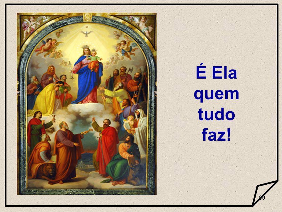 68 Ouvir a Palavra de Deus e a por em prática. Maria