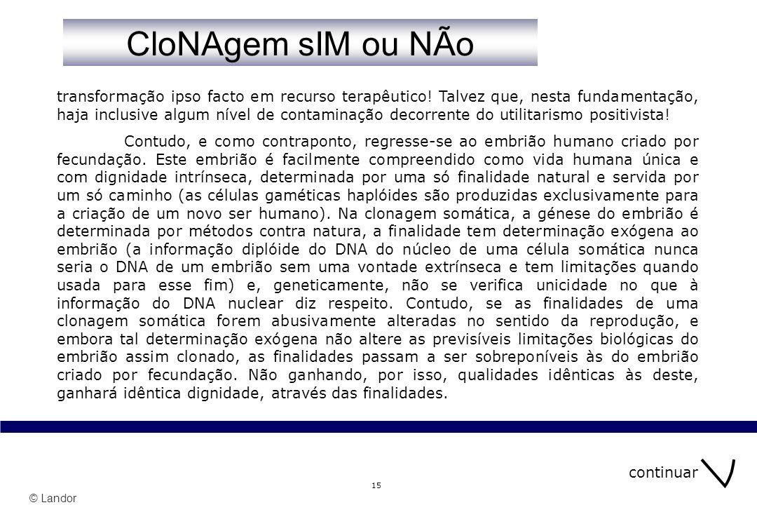 © Landor 15 transformação ipso facto em recurso terapêutico.