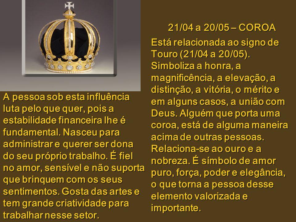 21/03 a 20/04 – PUNHAL Está relacionado ao signo de Áries(21/03 a 20/04). O Punhal é a imagem da luta e vontade de vencer. Representa honra, vitória e