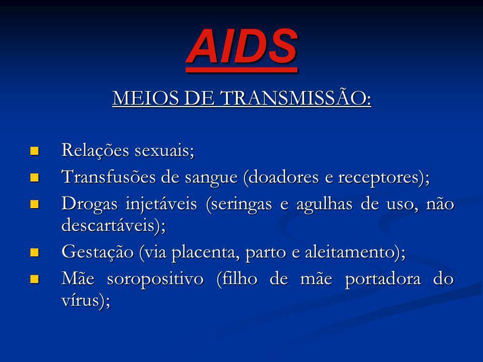 O vírus da AIDS necessita de uma enzima, a Transcriptase Reversa, para se multiplicar. O vírus da AIDS necessita de uma enzima, a Transcriptase Revers