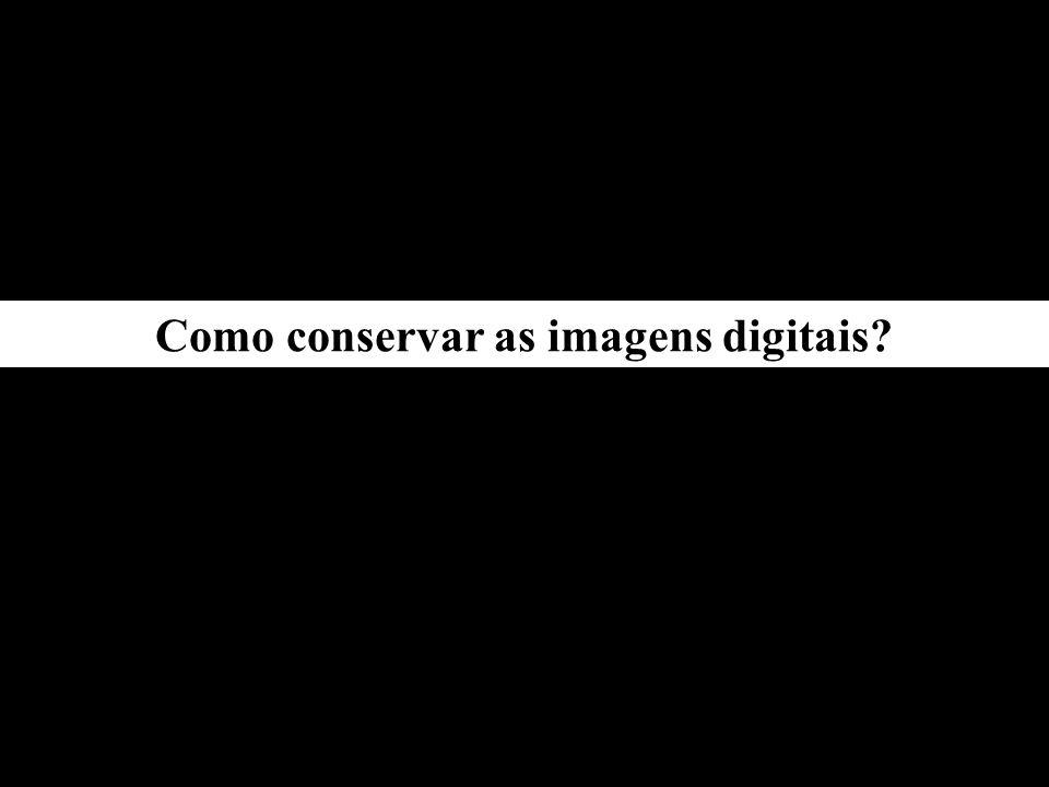 -a imagem digital possui a capacidade técnica de conservação teoricamente infinita, pois o arquivo copiado não sofre degeneração alguma.