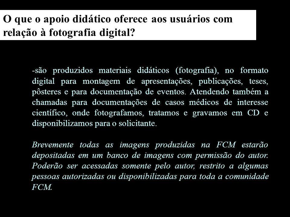 -canal contemporâneo http://www.canalcontemporaneo.art.br/indexM.php -curso de fotografia digital DMM/IA/UNICAMP http://www.iar.unicamp.br/disciplinas/fotografiadigital/artigo01.htm -Conservação e Preservação de Coleções Fotográficas.