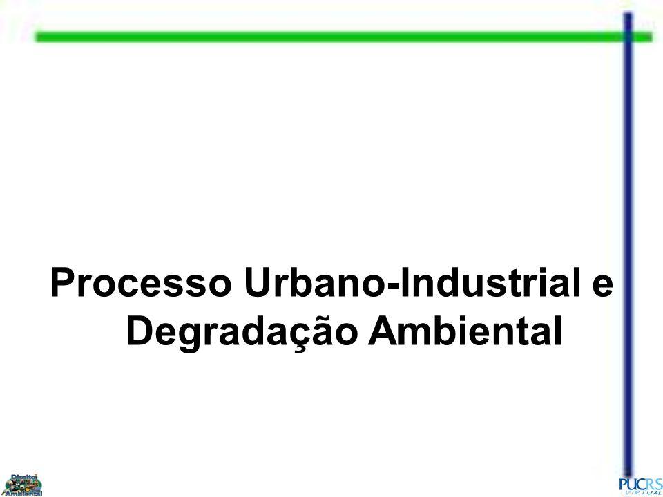 Processo Urbano-Industrial e Degradação Ambiental