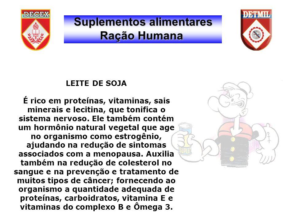 LEITE DE SOJA É rico em proteínas, vitaminas, sais minerais e lecitina, que tonifica o sistema nervoso.