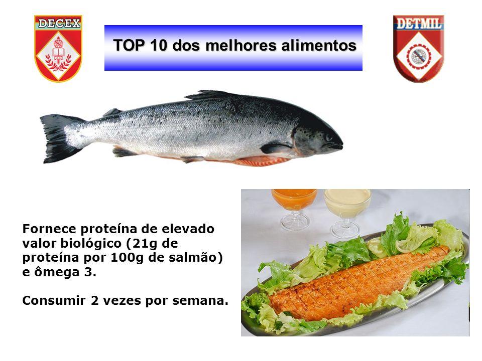 TOP 10 dos melhores alimentos Consumir 2 vezes por semana.