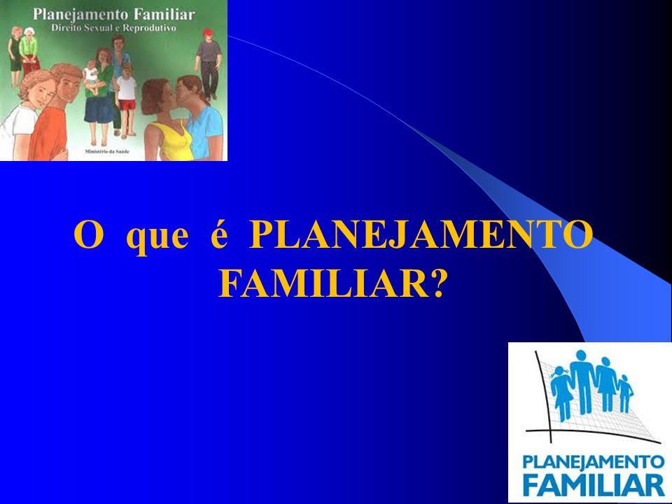 O que é PLANEJAMENTO FAMILIAR?