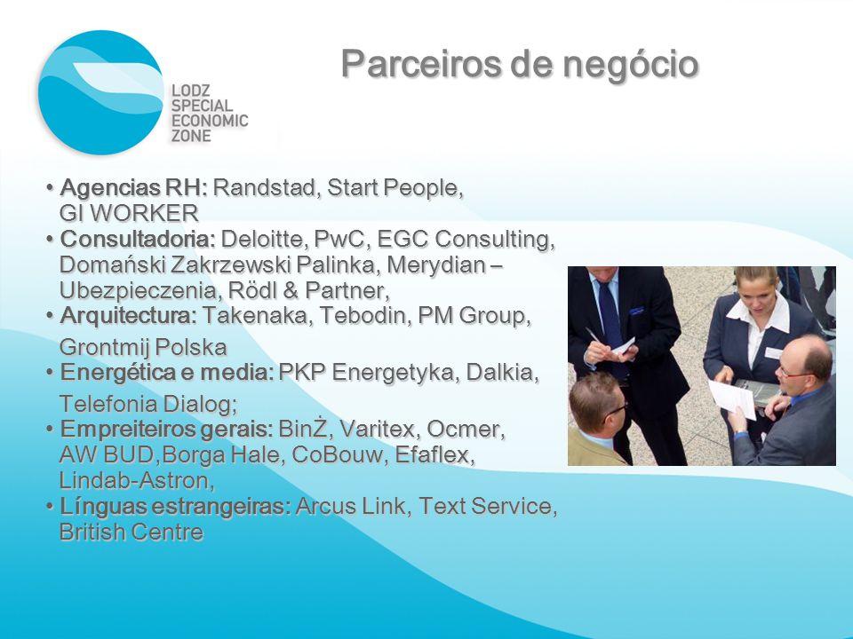 Agencias RH: Randstad, Start People, Agencias RH: Randstad, Start People, GI WORKER GI WORKER Consultadoria: Deloitte, PwC, EGC Consulting, Consultado