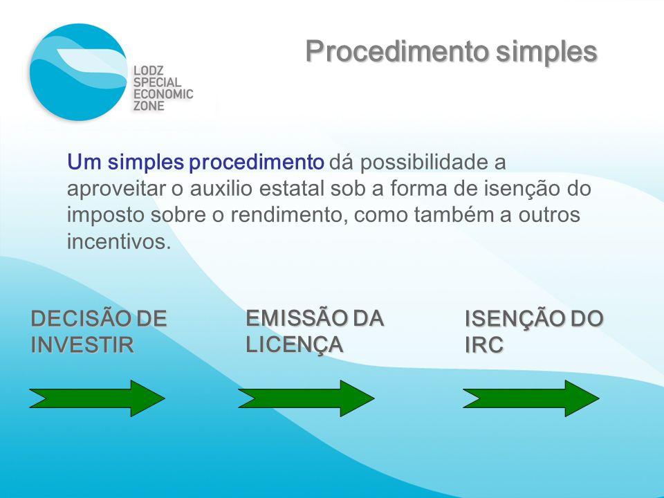 Um simples procedimento dá possibilidade a aproveitar o auxilio estatal sob a forma de isenção do imposto sobre o rendimento, como também a outros inc