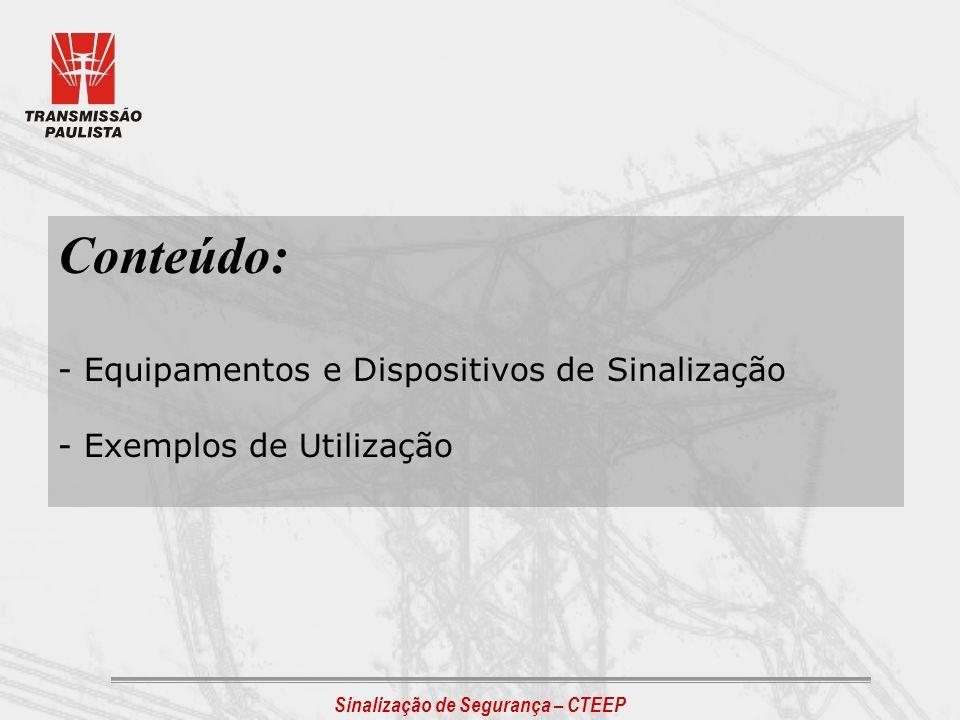 FITA DE SINALIZAÇÃO - AMARELO LIMÃO Usuário: Manutenção / Operação