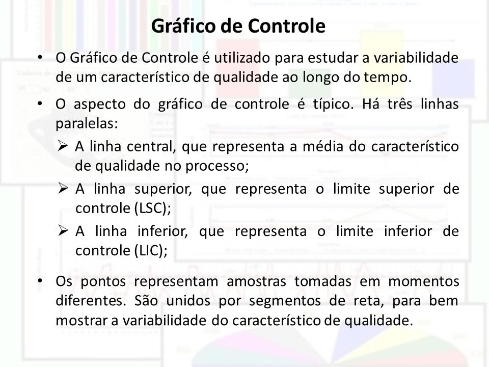 Um processo está fora de controle se apresentar: Estratificação, isto é, mudança no nível de desempenho do processo..