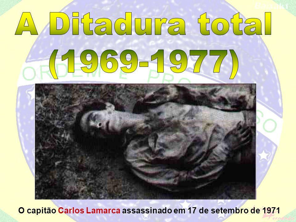 1967 – morre Castello Branco num misterioso acidente aéreo; 1967 – Che Guevara é assassinado por agentes da CIA, na Bolívia.