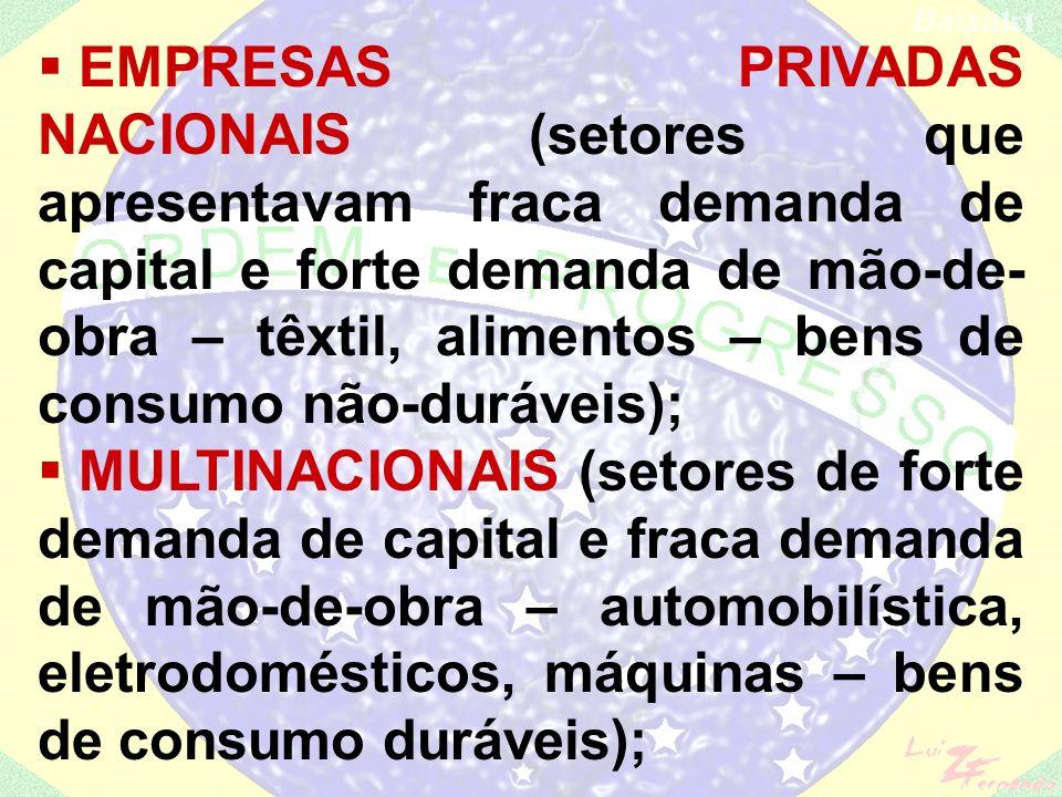 Emenda Constitucional n.º 01 (1969) – incorpora à Constituição todas a arbitrariedades (AI-5, decretos- lei, etc.); Economia: Milagre econômico – Delf