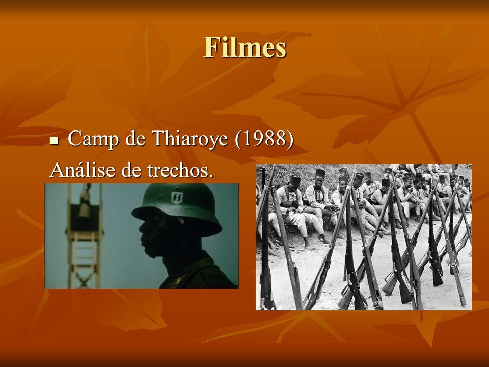 Filmes Camp de Thiaroye (1988) Camp de Thiaroye (1988) Análise de trechos.