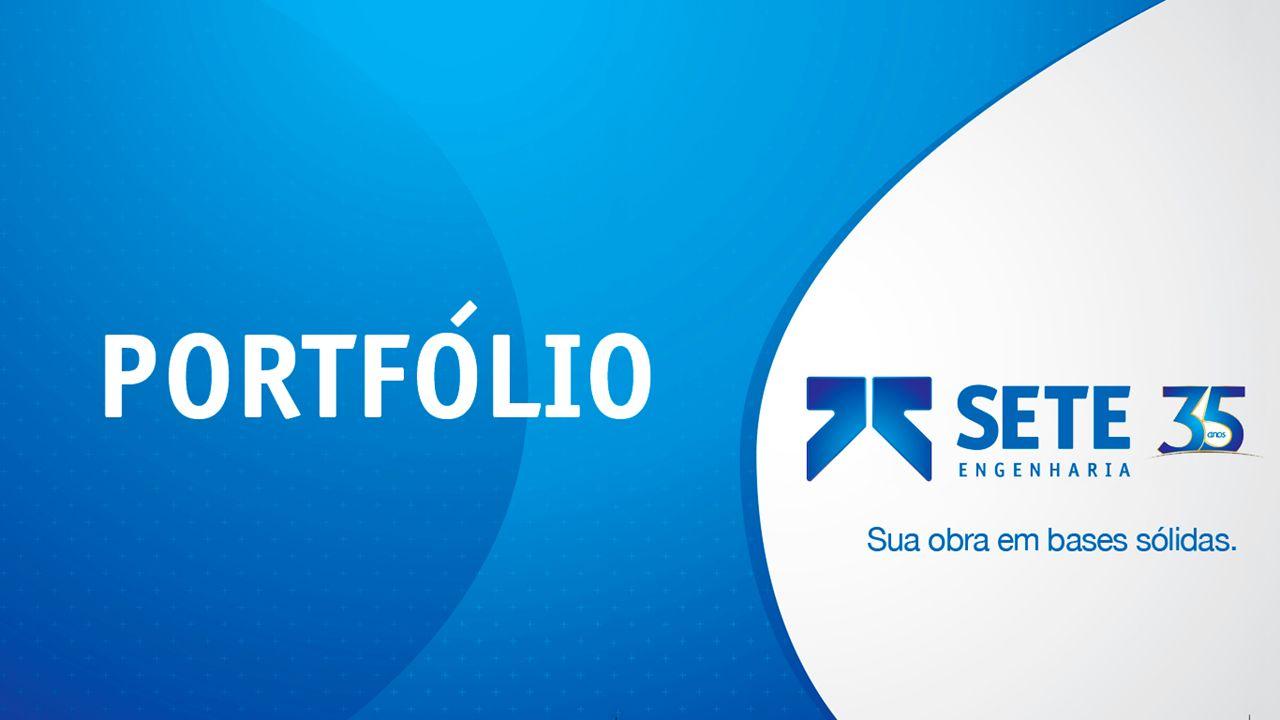 2 NOSSO NEGÓCIO A SETE Engenharia é uma empresa nacional, especializada no campo da engenharia de fundações e geotecnia.