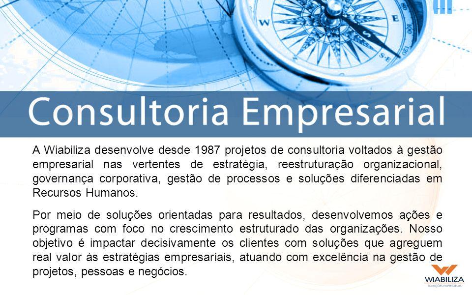 A Wiabiliza identifica, avalia e orienta o desenvolvimento de profissionais, buscando o alinhamento entre os objetivos da organização e as aspirações pessoais.