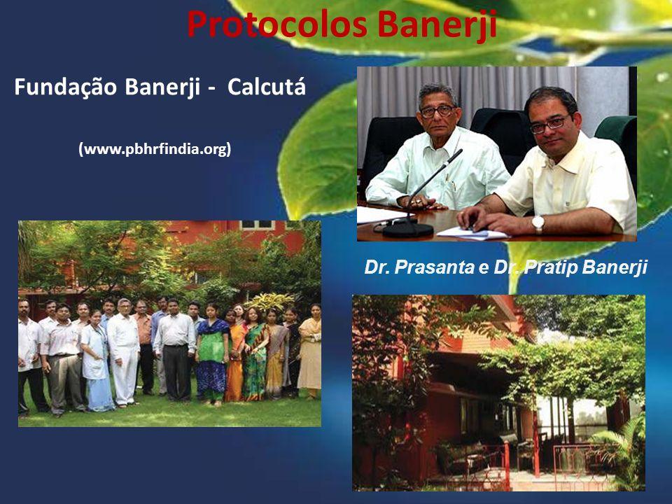 Fundação Banerji - Calcutá Dr. Prasanta e Dr. Pratip Banerji (www.pbhrfindia.org)