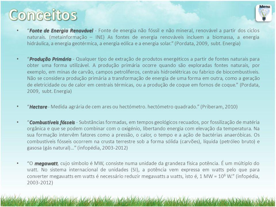Fonte de Energia RenovávelFonte de Energia Renovável - Fonte de energia não fóssil e não mineral, renovável a partir dos ciclos naturais. (metainforma