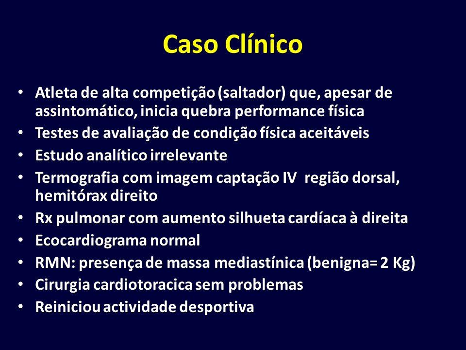 Caso Clínico Atleta de alta competição (saltador) que, apesar de assintomático, inicia quebra performance física Atleta de alta competição (saltador)