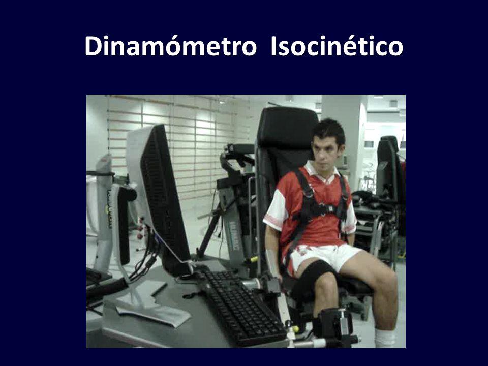 Dinamómetro Isocinético