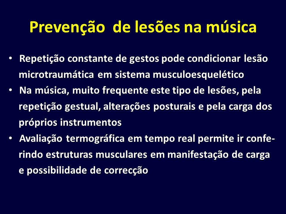 Prevenção de lesões na música Repetição constante de gestos pode condicionar lesão Repetição constante de gestos pode condicionar lesão microtraumátic
