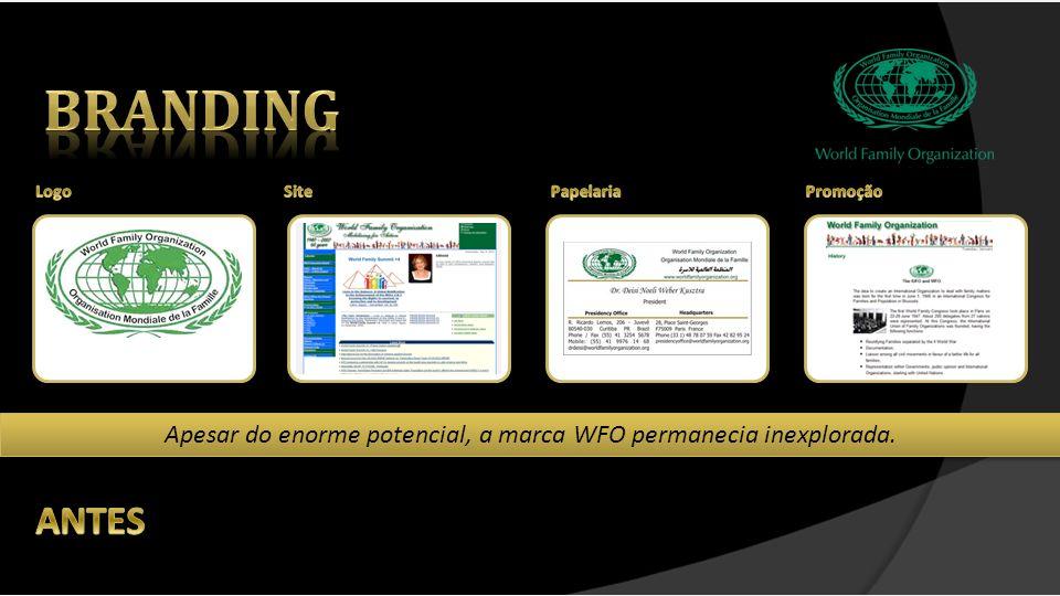 Apesar do enorme potencial, a marca WFO permanecia inexplorada.