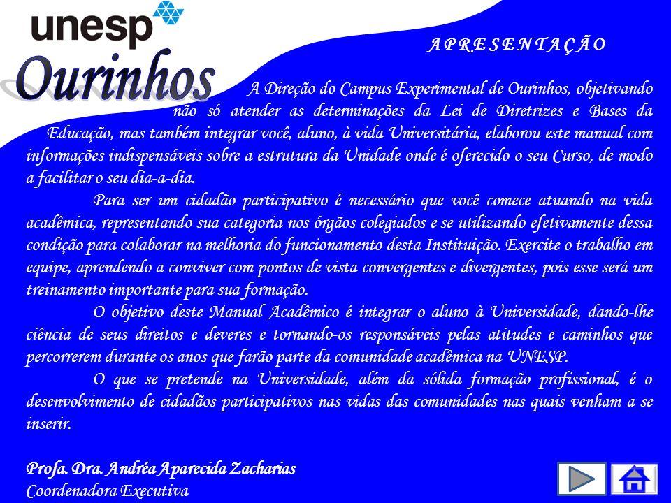 7.NORMAS DA GRADUAÇÃO – LEGISLAÇÃO UNIVERSITÁRIA 7.6.