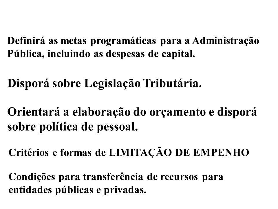 LDO A PRIMORDIALIDADE DO CONTROLE PARLAMENTAR ! Art. 4º/LRF